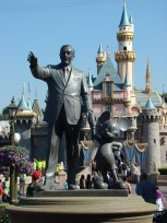Partners Statue in the hub at Disneyland.