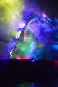 2014-08-22 211910 - Disneyland Fantasmic Malificent Dragon